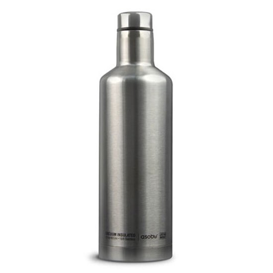 Asobu Times Square 450ml Roestvrijstaal Zilver drinkfles