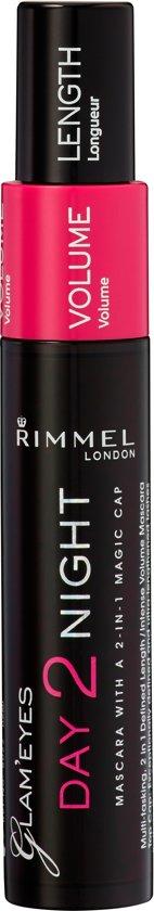 4231c4953ba bol.com | Rimmel London Day2Night - 001 Black - Mascara