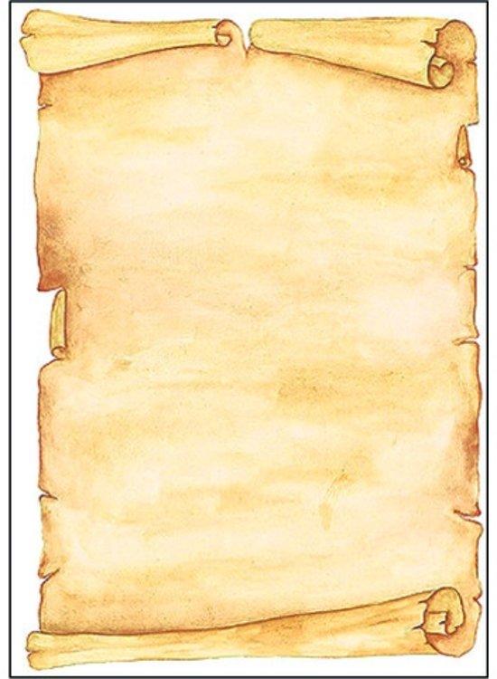 designpapier Sigel A4 90grs pak a 50 vel Perkament