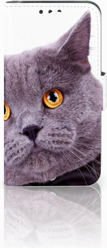 Huawei Y5 Y560 ontwerpen telefoonhoesje Kat in Katwijk aan den Rijn