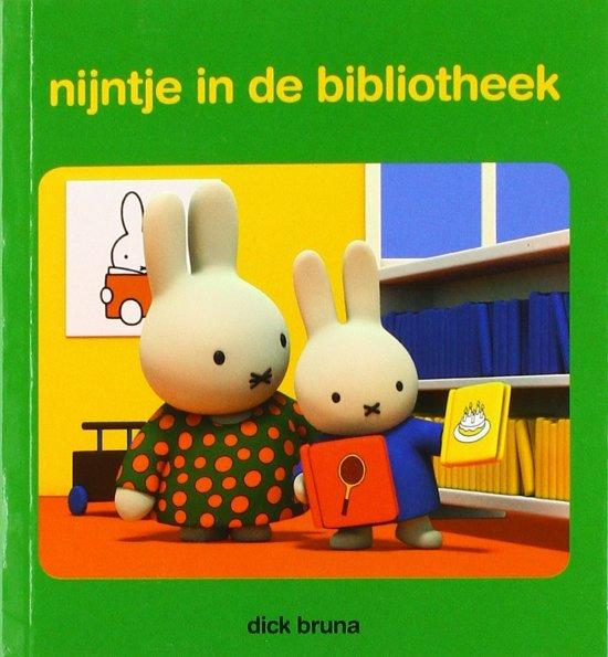 Nijntjes avonturen groot en klein - nijntje in de bibliotheek