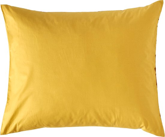 Van Morgen Kussensloop Honey Loves You Honey Loves You - Okergeel - 60x70cm