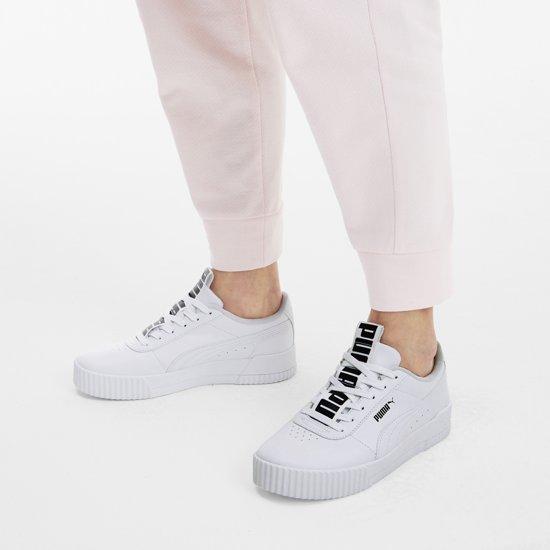 Puma Carina Bold Dames Sneakers - White-puma White
