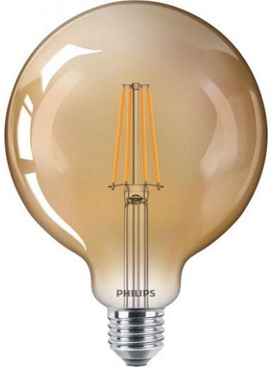 Philips Classic LEDGlobe D 7-50W G120 E27 820 Goud Dimbaar (6 Stuks)