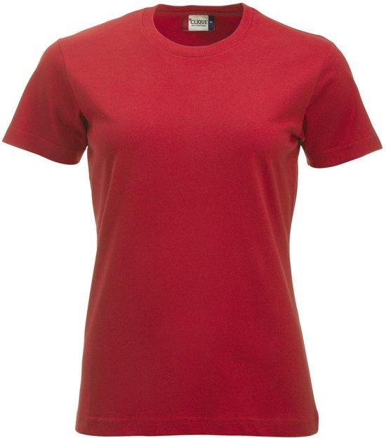 New Classic-T dames rood l