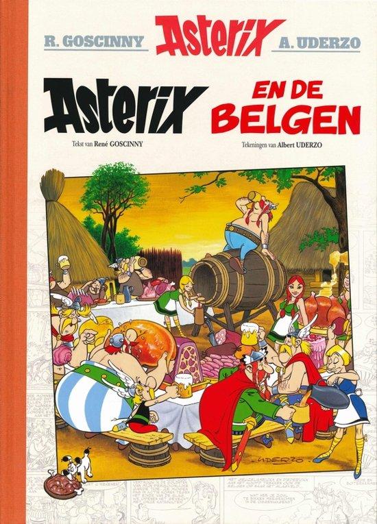 Asterix luxe editie Lu24. asterix en de belgen (luxe editie)