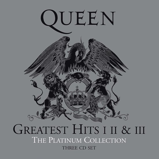 CD cover van The Platinum Collection van Queen