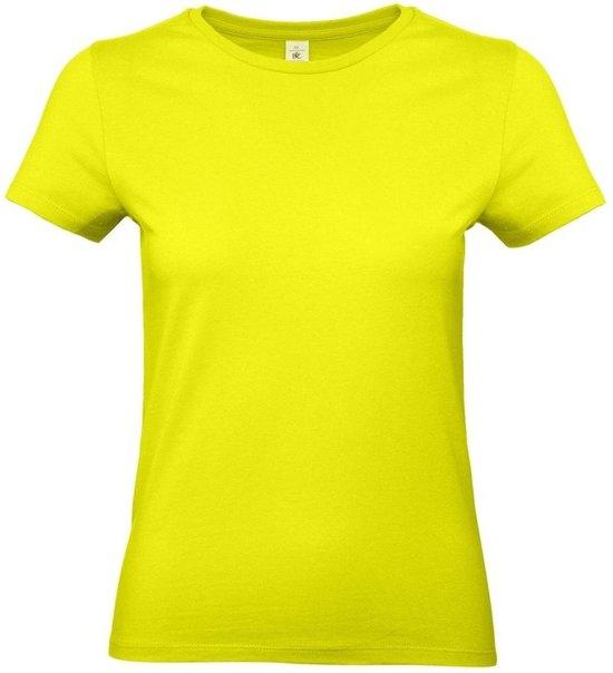 neon geel shirt dames