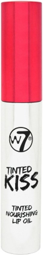 W7 Tinted Kiss Tinted Nourishing Lip Oil Cherry Brandy
