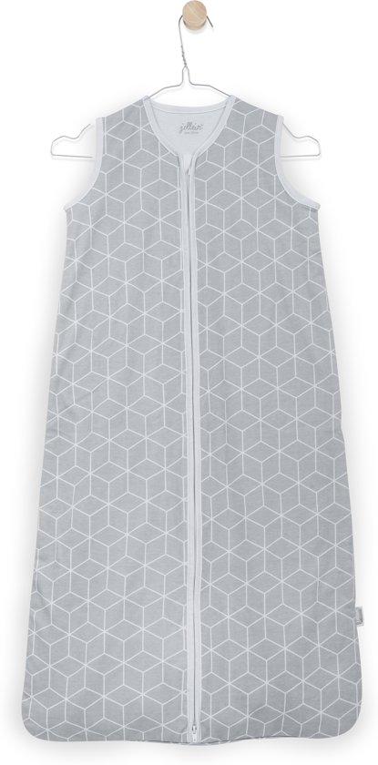Jollein Graphic slaapzak zomer 70cm jersey grijs