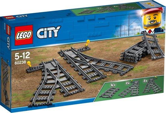 Afbeelding van LEGO City Wissels - 60238 speelgoed