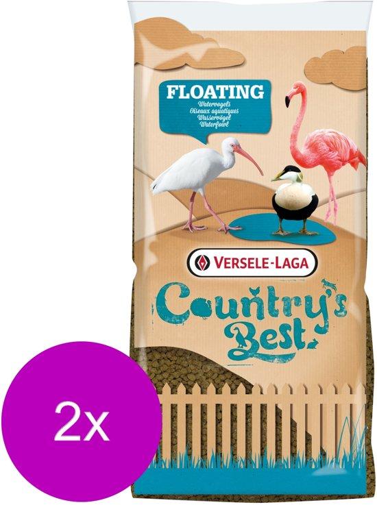 Versele-Laga Country`s Best Floating Allround - Pluimveevoer - 2 x 15 kg