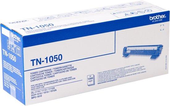 BROTHER TN-1050 toner zwart standard capacity 1.000 paginas 1-pack