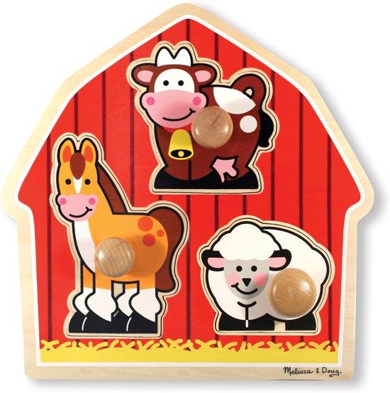 Melissa & Doug - Barnyard Animals - Legpuzzel