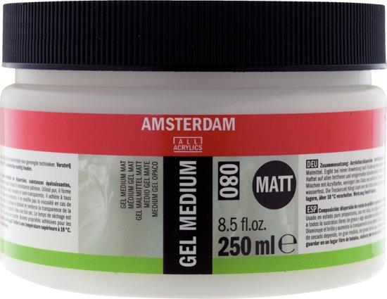 Amsterdam schildermedium flacon 250ml - gel - mat