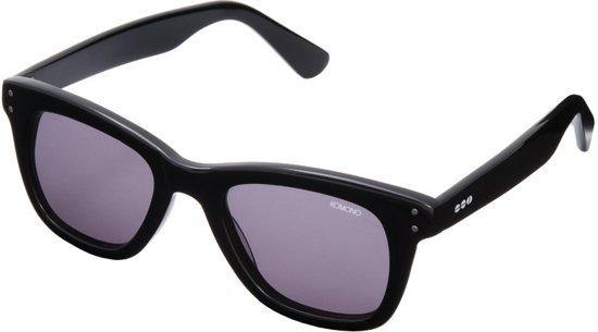 Komono Allen zonnebril Matte Black Transparent KOM-S1425 c1dc025c6df