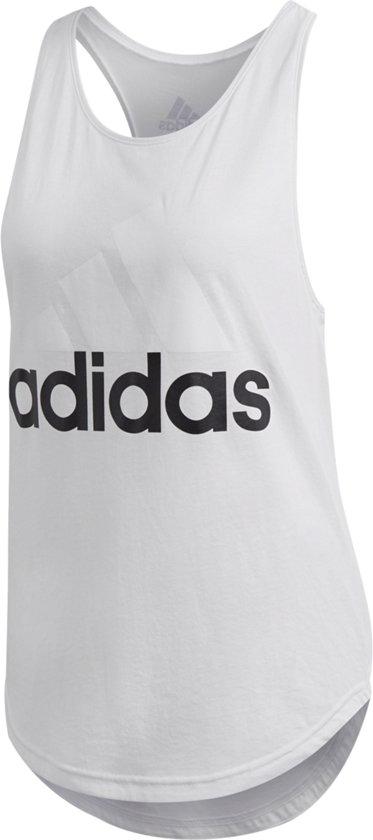 c7e64e6dbab bol.com | adidas - Essentials Linear Loose Tanktop - Dames - maat XS