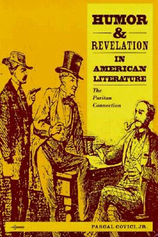 puritans in literature Rejection of puritanism in restoration literature back next puritans, we might remember, were a group of english protestants who wanted to reform the religion.