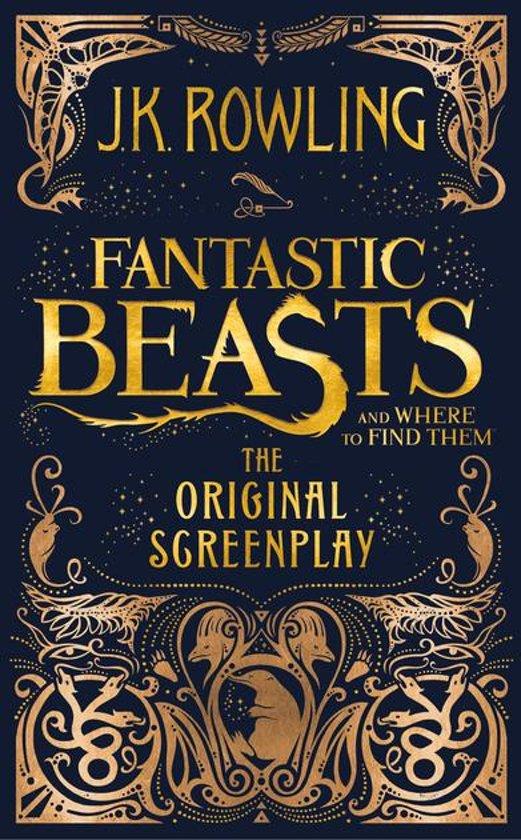 Boek cover Fantastic Beasts and Where to Find Them - The Original Screenplay van J.K. Rowling (Onbekend)