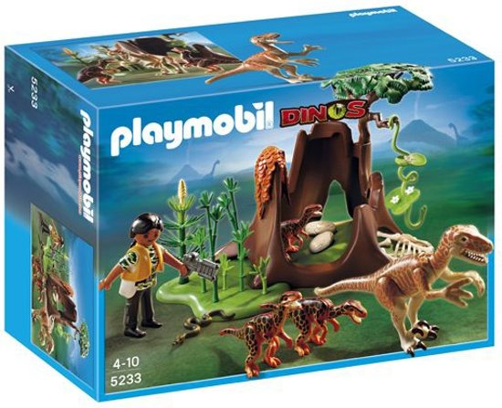 Playmobil Deinonychus en Velociraptor-Familie - 5233