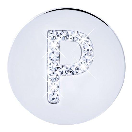Lucardi - More Coins - Stalen munt letter kristal