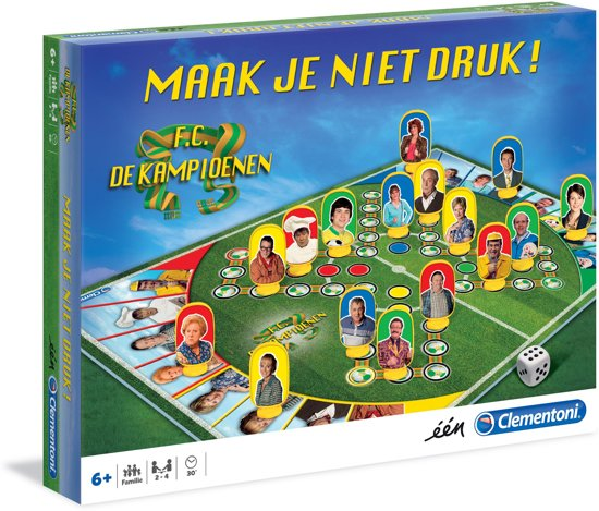 F.C. De Kampioenen Paardjesspel - Bordspel