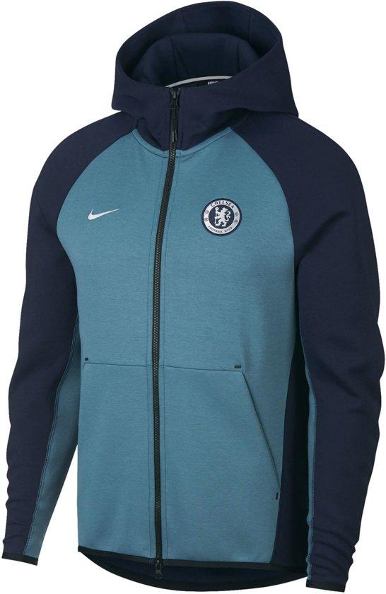 36275422eaf9 Nike Sportwear Chelsea FC Heren Hoodie Sporttrui - Maat M - Mannen - blauw