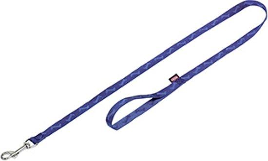 Nobby Lijn Bone Uitlaatriem - Blauw - 2 x 200 cm