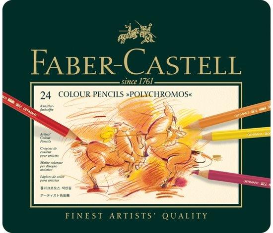 Faber Castell - Kleurpotlood - Polychromos - 24 stuks