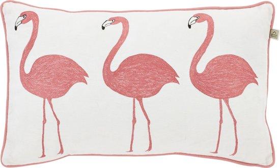 bol com   Dutch Decor Flamingo   Sierkussen   30×50 cm   Roze
