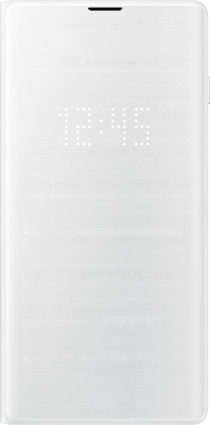 Samsung LED view cover - wit - voor Samsung Galaxy S10