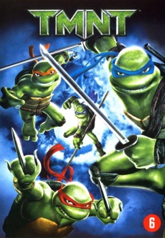 Cover van de film 'Teenage Mutant Ninja Turtles'