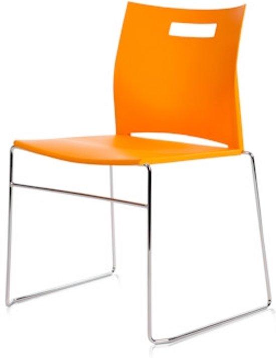 24Designs Conferentiestoel Como - Oranje