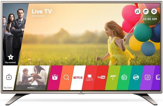 lg 43lh615v 43 39 39 full hd smart tv wi fi zilver led tv. Black Bedroom Furniture Sets. Home Design Ideas