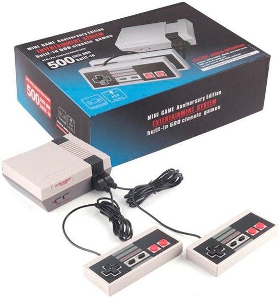 Afbeelding van Retro Classic TV Mini Game Console 500 voorgeinstalleerde Games