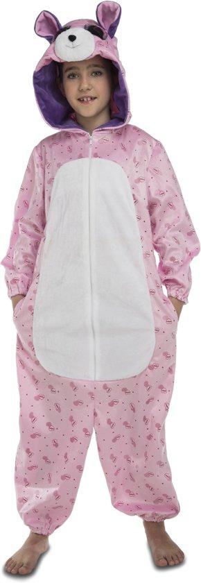 Roze beer kostuum voor kinderen - Verkleedkleding