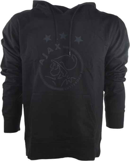 Ajax hooded sweater kinderen - zwart - maat 116