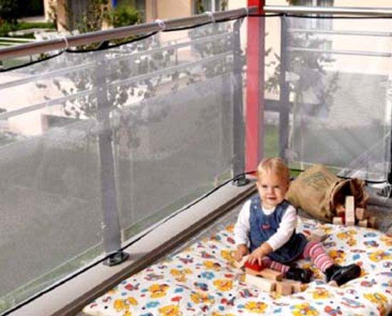 Reer - Veiligheidsnet voor balkon - 294x94 cm