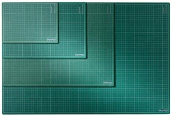 Snijmat A1 formaat (600 mm X 900 mm) - groen