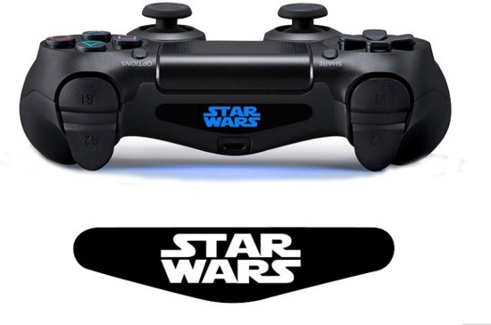 Starwars – PlayStation 4 light bar sticker – PS4 controller lightbar skin – 2 stuks