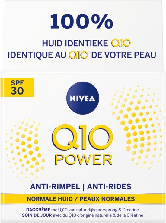 NIVEA Q10 Power Anti-Rimpel 35+ Dagcrème - SPF30 - 50 ml