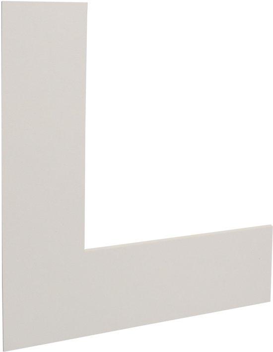 Passe-partouts 224 Wit 13x18cm met 8x12cm uitsnede (5 stuks)