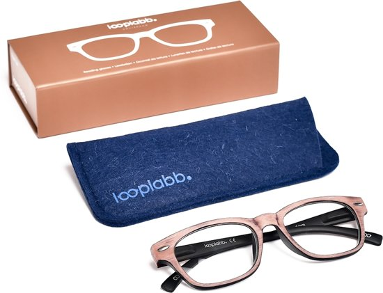 Looplabb. Mephisto Leesbril - Grijs - Sterkte: +3.50