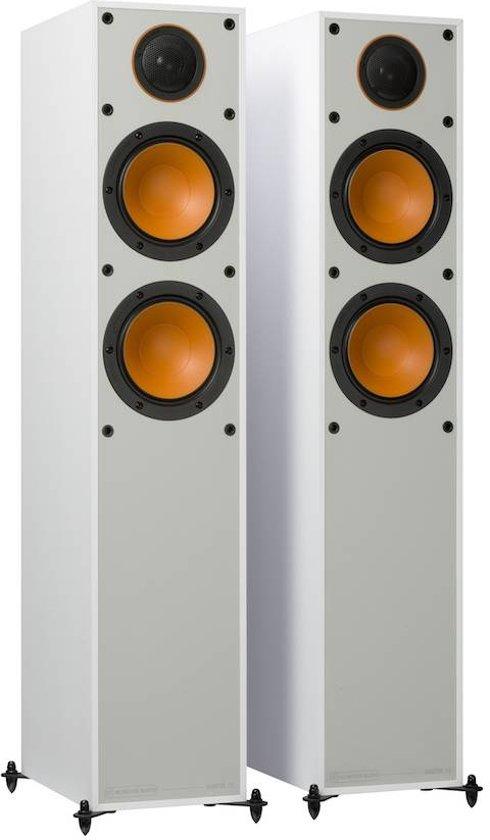 Monitor Audio Monitor 200 - Wit - Vloerstaande Luidspreker(Per Paar)