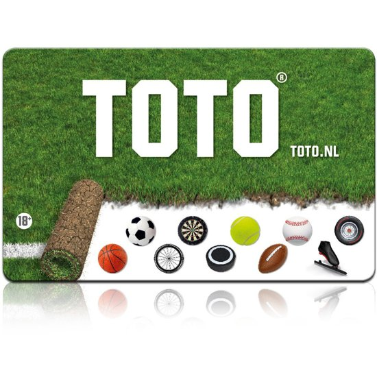Uitgelezene bol.com | Toto cadeaukaart - 15 euro SX-76