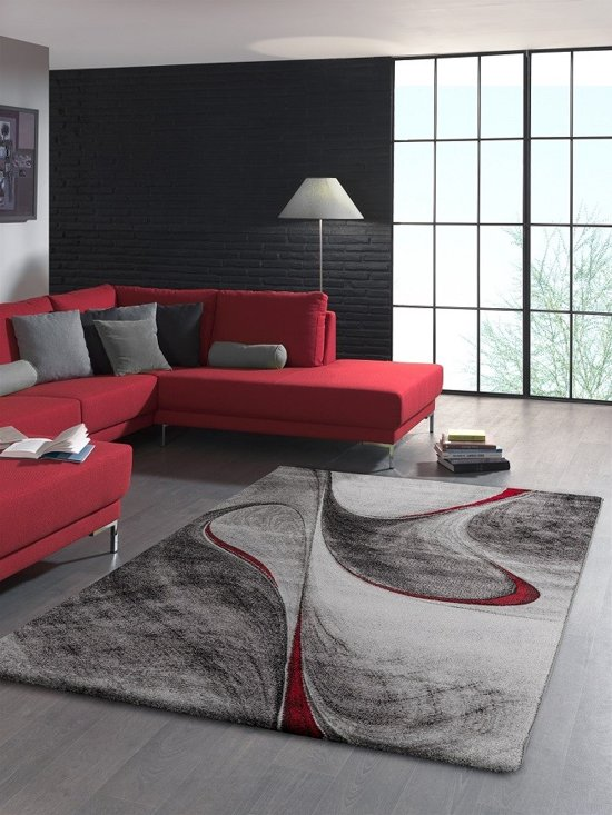 Vloerkleed Brilliance 662-910 Red-160 x 230 cm
