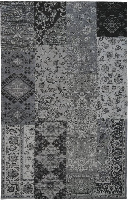 Grijs tapijt vintage look 120x170 - Grijs tapijt ...