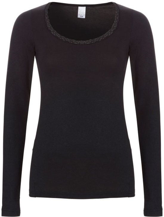 Ten cate Thermo Shirt Lace 50020 zwart-L
