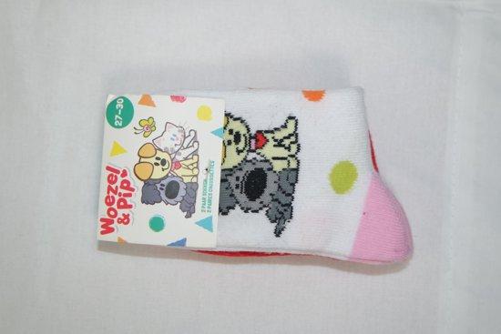 Woezel en Pip roze sokken 27- 30