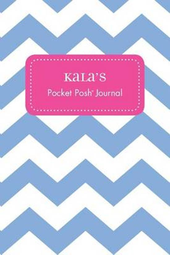 Kala's Pocket Posh Journal, Chevron